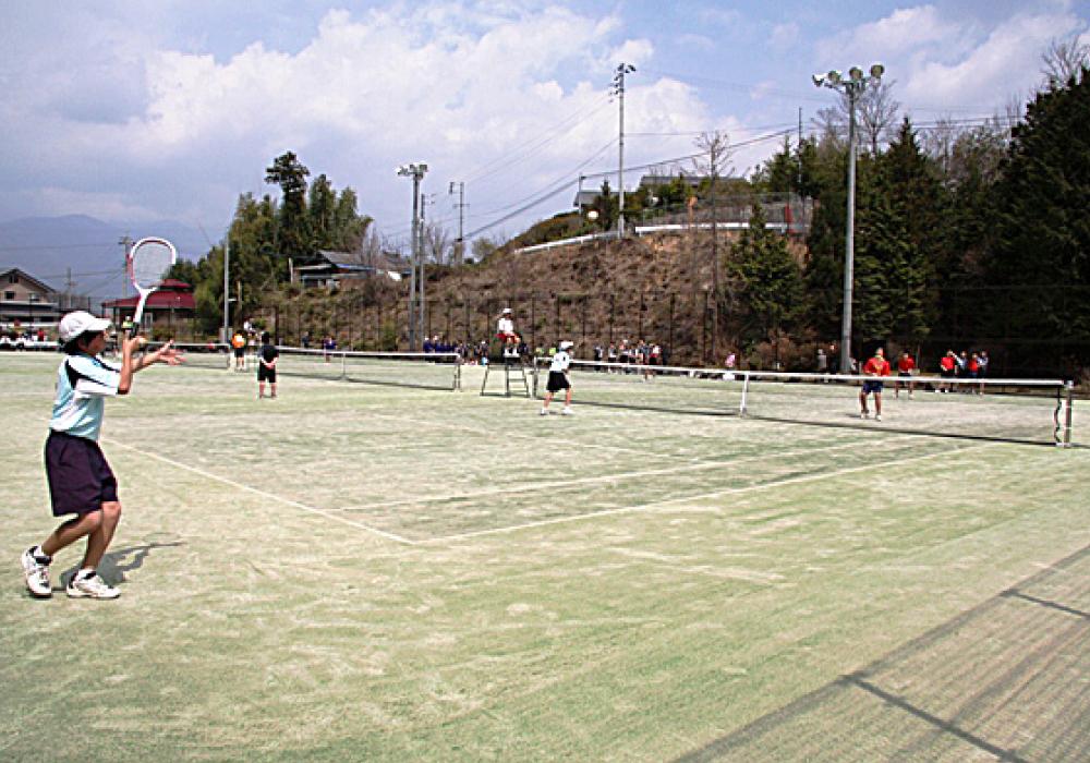 豊丘村林原テニスコート